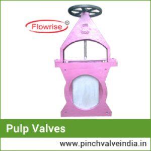 pulp valves