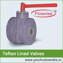 teflon lined butterfly valves