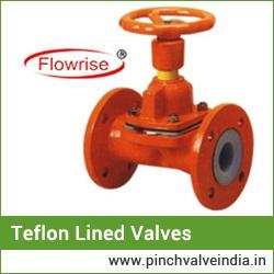 teflon lined butterfly valves suppiler