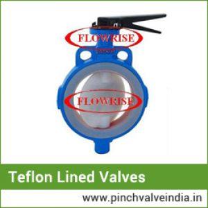 teflon lined valves
