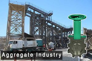 Aggregate Industry, pinch valve Supplier in India