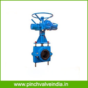 Electric Acuator Pinch Valve Manufacturer , Supplier in india