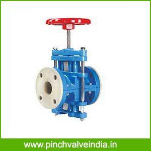 Pinch Valve Supplier , Exporter , Manufacturer in india